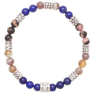 Healing Stones for You Taurus Zodiac Bracelet Size 7.5 (USA)