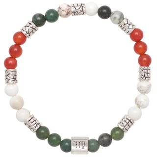 Healing Stones for You Virgo Zodiac Bracelet Size 7.75|https://ak1.ostkcdn.com/images/products/14593965/P21139074.jpg?impolicy=medium