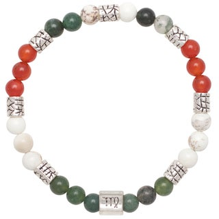 Healing Stones for You Virgo Zodiac Bracelet Size 7.75
