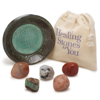 Healing Stones for You Cancer Zodiac Stone Set