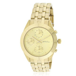 Marc by Marc Jacobs Peeker Goldtone Stainless Steel Watch