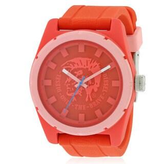 Diesel Men's Red Silicone Watch
