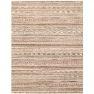 Herat Oriental Afghan Hand-knotted Gabbeh Wool Rug (7'7 x 9'10)