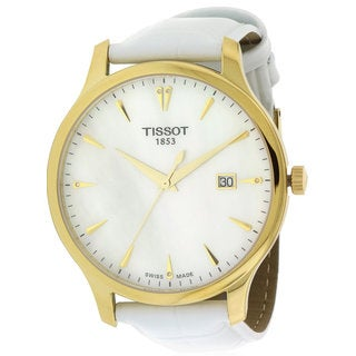 Tissot Tradition Women's T0636103611600 Leather Watch