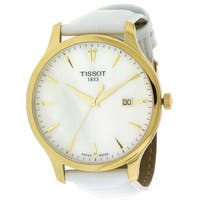 Tissot Tradition Women's  Leather Watch