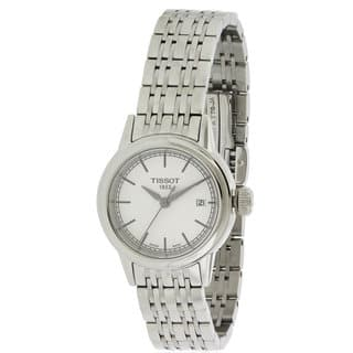 Tissot Women's Carson T0852101101100 Stainless-steel Watch|https://ak1.ostkcdn.com/images/products/14594011/P21139121.jpg?impolicy=medium