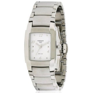 Tissot Ladies' T0733101101701 T-10 Stainless-steel Watch