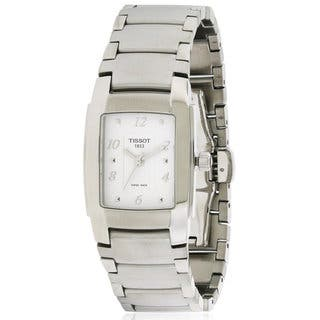 Tissot Ladies' T0733101101701 T-10 Stainless-steel Watch|https://ak1.ostkcdn.com/images/products/14594017/P21139117.jpg?impolicy=medium