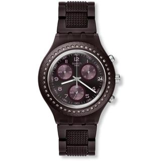 Swatch Women's SVCV4000AG Tobacco Scent Chronograph Watch