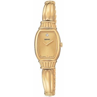 Seiko Diamond Goldtone (Open Box) Ladies' Quartz Watch