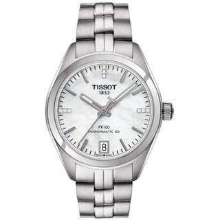 Tissot Men's PR 100 Powermatic 80 Silvertone Automatic Watch