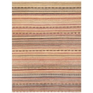 Herat Oriental Afghan Hand-knotted Gabbeh Wool Rug (8'9 x 11'7)