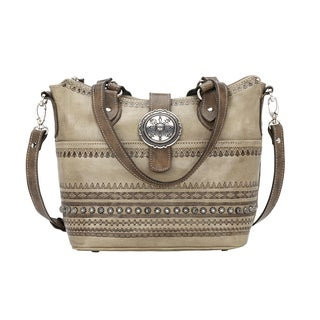 American West Trading Post Bucket Tote Bag