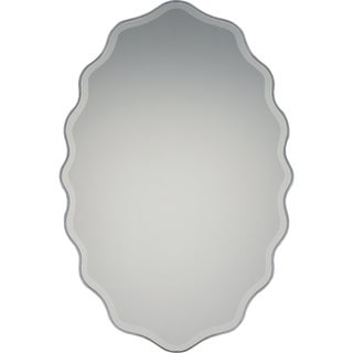 Quoizel Artiste Silver-tone Resin and Glass Large Mirror