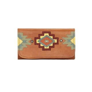 American West Adobe Allur Tri-Fold Wallet