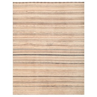 Herat Oriental Afghan Hand-knotted Gabbeh Wool Rug (9'8 x 12'6)