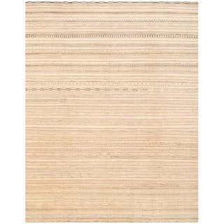 Herat Oriental Afghan Hand-knotted Gabbeh Wool Rug (9'5 x 12')