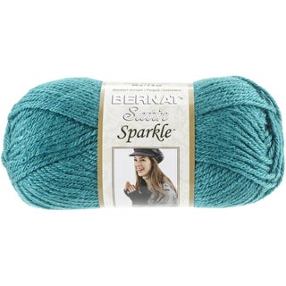 Satin Sparkle Yarn-Emerald
