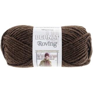 Roving Yarn-Chocolate Brown