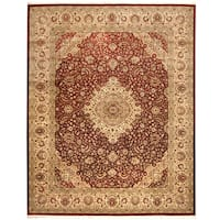 Herat Oriental Pakistani Hand-knotted Tabriz Wool Rug (8' x 10')