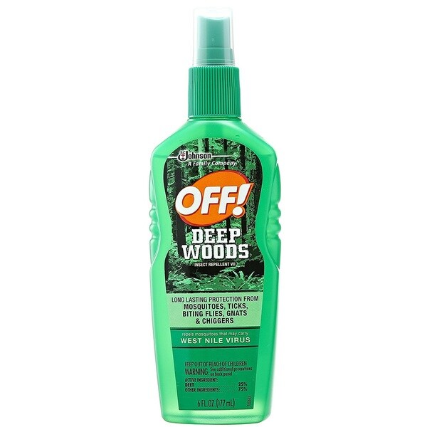 Off! Deep Woods Spritz Insect Repellant, 6-ounce