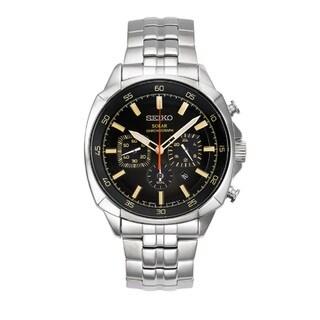 Seiko Men's SSC511 Recraft Series Solar Chronograph Watch