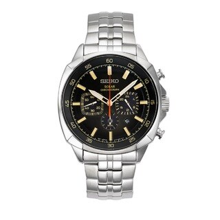 Seiko Men's SSC511 Recraft Series Solar Chronograph Watch