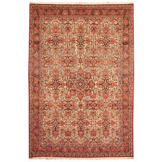 Herat Oriental Persian Hand-knotted Bidjar Wool Rug (7'1 x 10'4)