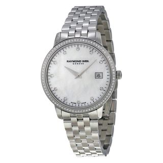 Raymond Weil Women's 5388-STS-97081 'Toccata' Diamond Stainless Steel Watch