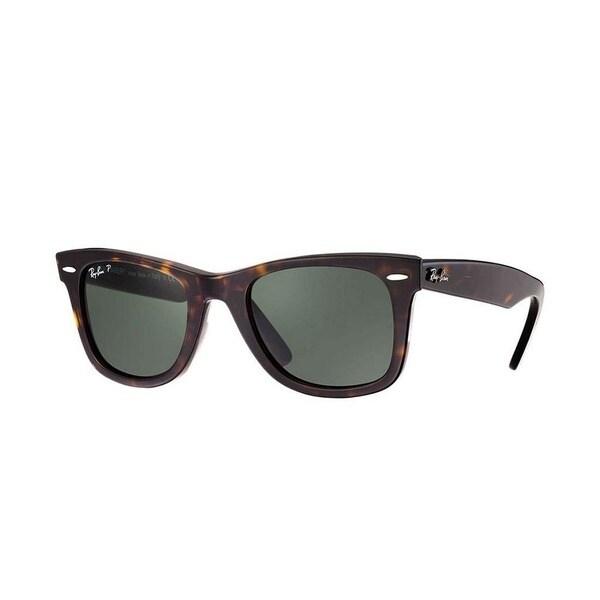 d8826fb1674 Ray-Ban Unisex RB2140 902 58 50 Square Plastic Havana Green Sunglasses