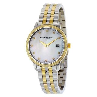Raymond Weil Women's 5388-SPS-97081 'Toccata' Diamond Two-Tone Stainless Steel Watch