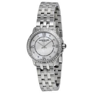 Raymond Weil Women's 5391-STS-00995 'Tango' Diamond Stainless Steel Watch https://ak1.ostkcdn.com/images/products/14594600/P21139645.jpg?impolicy=medium