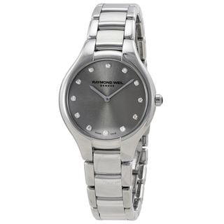 Raymond Weil Women's 5132-ST-65081 'Noemia' Diamond Stainless Steel Watch
