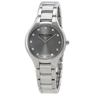 Raymond Weil Women's 5132-ST-65081 'Noemia' Diamond Stainless Steel Watch