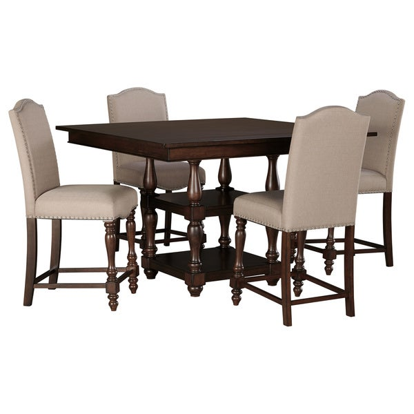 Signature Design By Ashley Baxenburg Brown Counter Height 5 Piece Dining Set