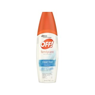 Off FamilyCare Clean Feel 6-ounce Insect Repellent