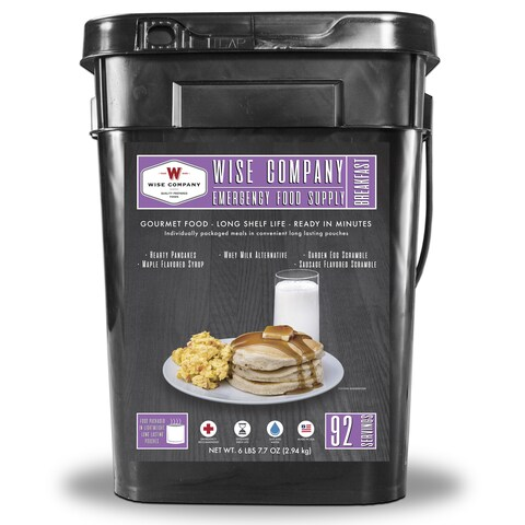 Wise Company Egg Scramble and Pancake Breakfast Bucket