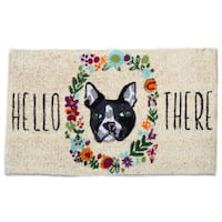 TAG Hello There Dog Coir Mat