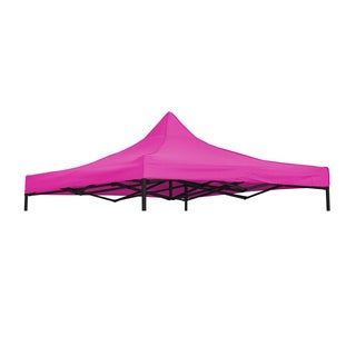 9.6' x 9.6' Square Replacement Canopy Gazebo Top Assorted Colors By Trademark Innovations