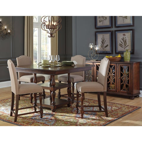 Signature Design by Ashley Baxenburg Brown Dining Set