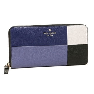 Kate Spade Cobble Hill Lacey Oyster Blue Multi Wallet