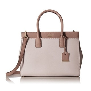 Kate Spade New York ameron Street Candace Nouveau Neutral Satchel Handbag