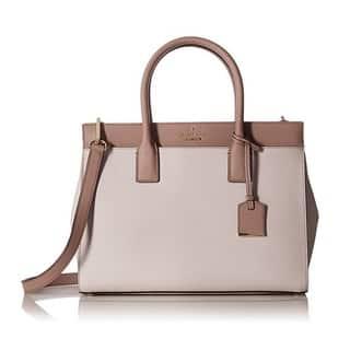 Kate Spade New York ameron Street Candace Nouveau Neutral Satchel Handbag|https://ak1.ostkcdn.com/images/products/14594713/P21139705.jpg?impolicy=medium