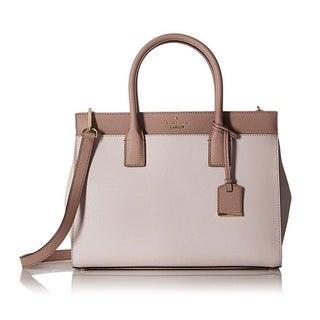 Kate Spade New York ameron Street Candace Nouveau Neutral Satchel Handbag