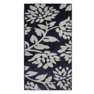 Jean Pierre Cut and Loop Melly Flat Grey/Berber Textured Decorative Accent Rug - (28 x 48 in.)