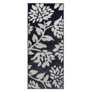 Jean Pierre Cut and Loop Melly Flat Grey/Berber Textured Decorative Accent Rug - (24 x 60 in.)