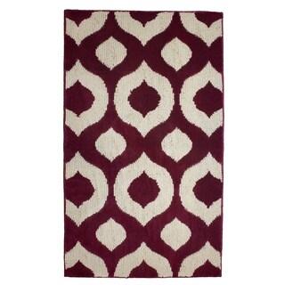 Jean Pierre Cut and Loop Lovie Barn/Berber Textured Decorative Accent Rug - (28 x 48 in.)