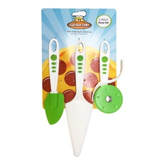 Curious Chef 3-piece Pizza Set