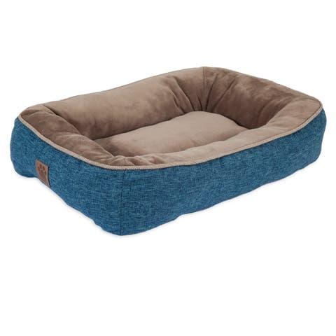 Snoozzy Rustic Elegance Low Bumper Pet Bed