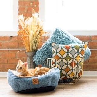 Snoozzy Rustic Elegance Clamshell Pet Bed (3 options available)